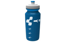 Cube Logo bidon 0,75 l wit/blauw